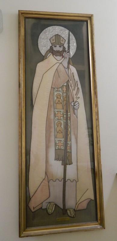 Szent Adalbert textilkép, 1938.